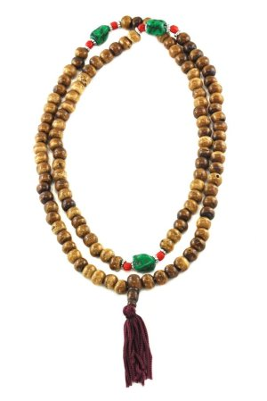 Tantric and Healing Brown Bone Mala
