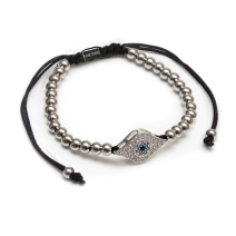 pumped-evil-eye-silver-beads-bracelet-forziani