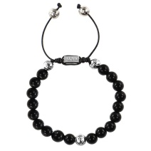 summit-black-onyx-beaded-bracelet-forziani